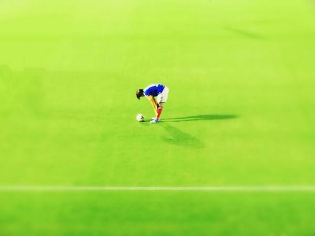 初めてサッカー専用スタジアムに行ってきました(2014.7.23 横浜F・マリノス-ヴィッセル神戸)