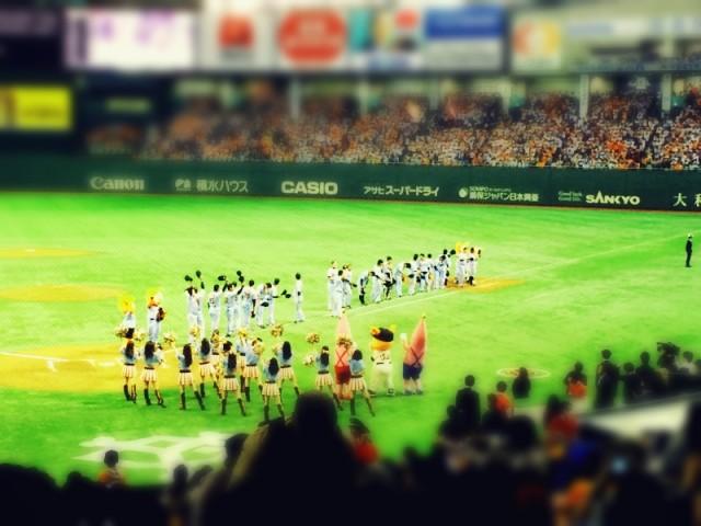 田口麗斗投手初勝利!ジャイアンツ−スワローズを観に行きました